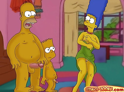 The Simpsons- Lustful Homer..