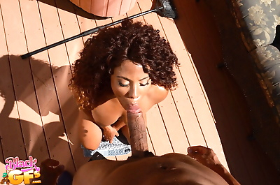 Naked black amateur Quinn..