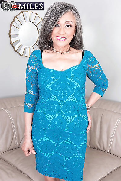 Horny Asian mature granny..