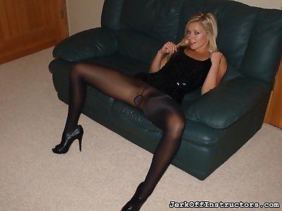 Hot blonde Lena Nicole..