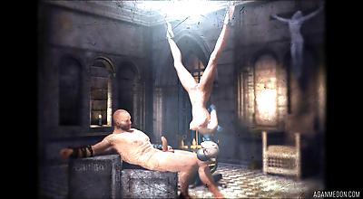 The inquisition part 9 scene..
