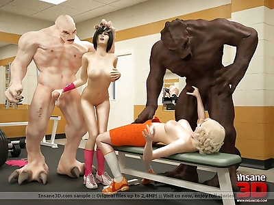 3d sex monsters fucking in..
