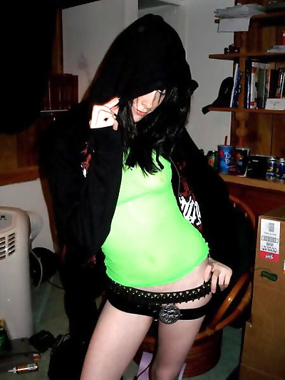 Strip pics of punk teen -..