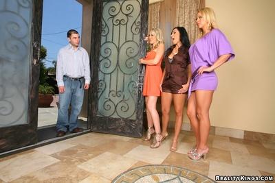 Spot these 3 super damp ass..