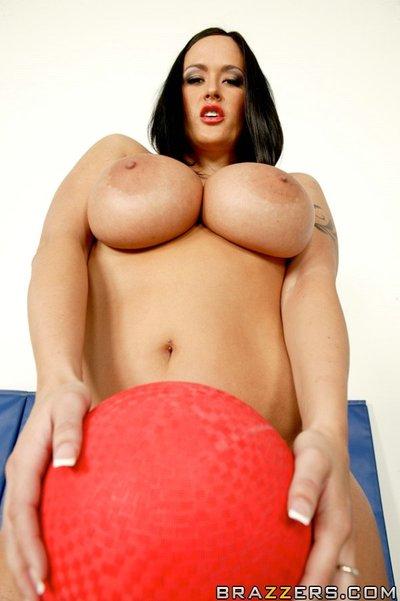 Busty sports babe Carmella..