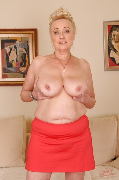 Lecherous granny with..