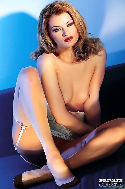 Beautiful blonde female..