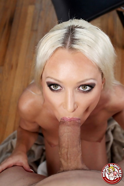 Hot blonde chick Diana Doll..